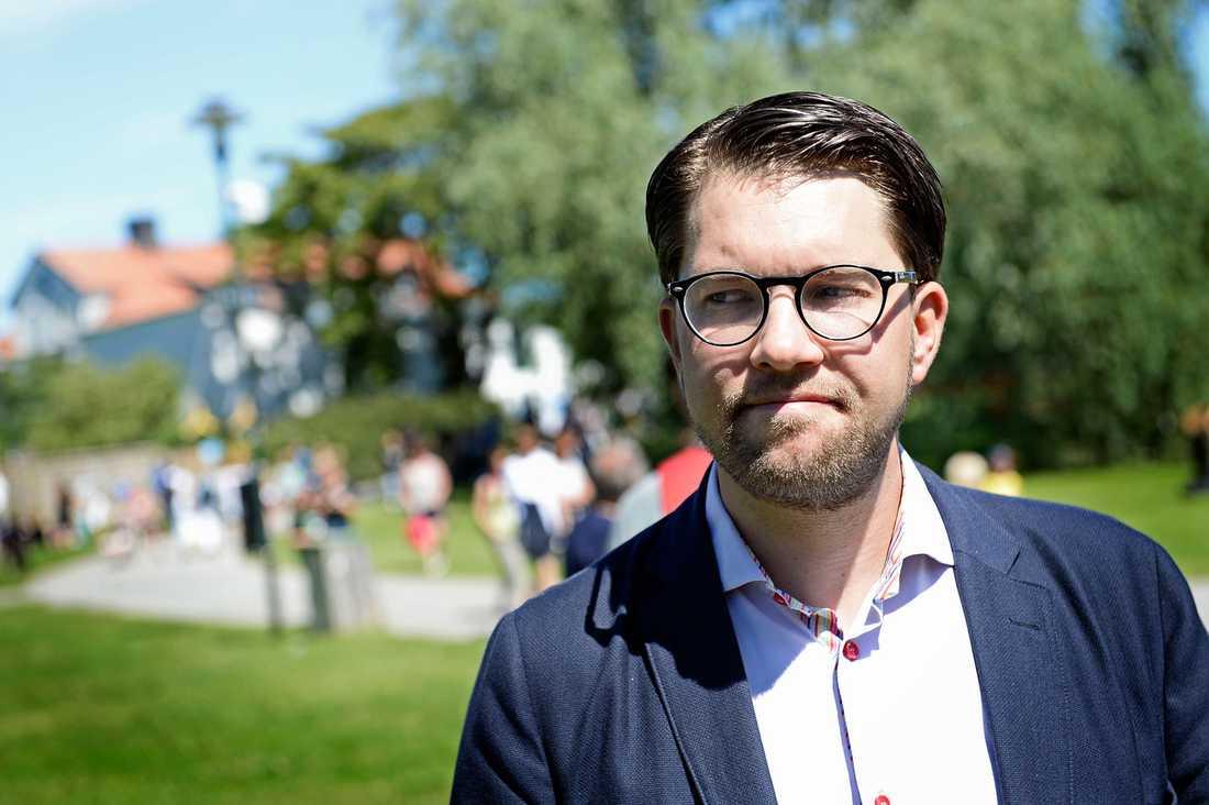 Jimmie Åkesson, partiordförande för SD.