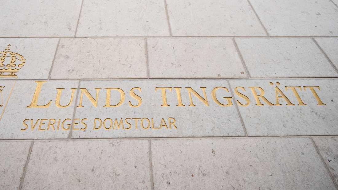 17-åring åtalas vid Lunds tingsrätt. Arkivbild.