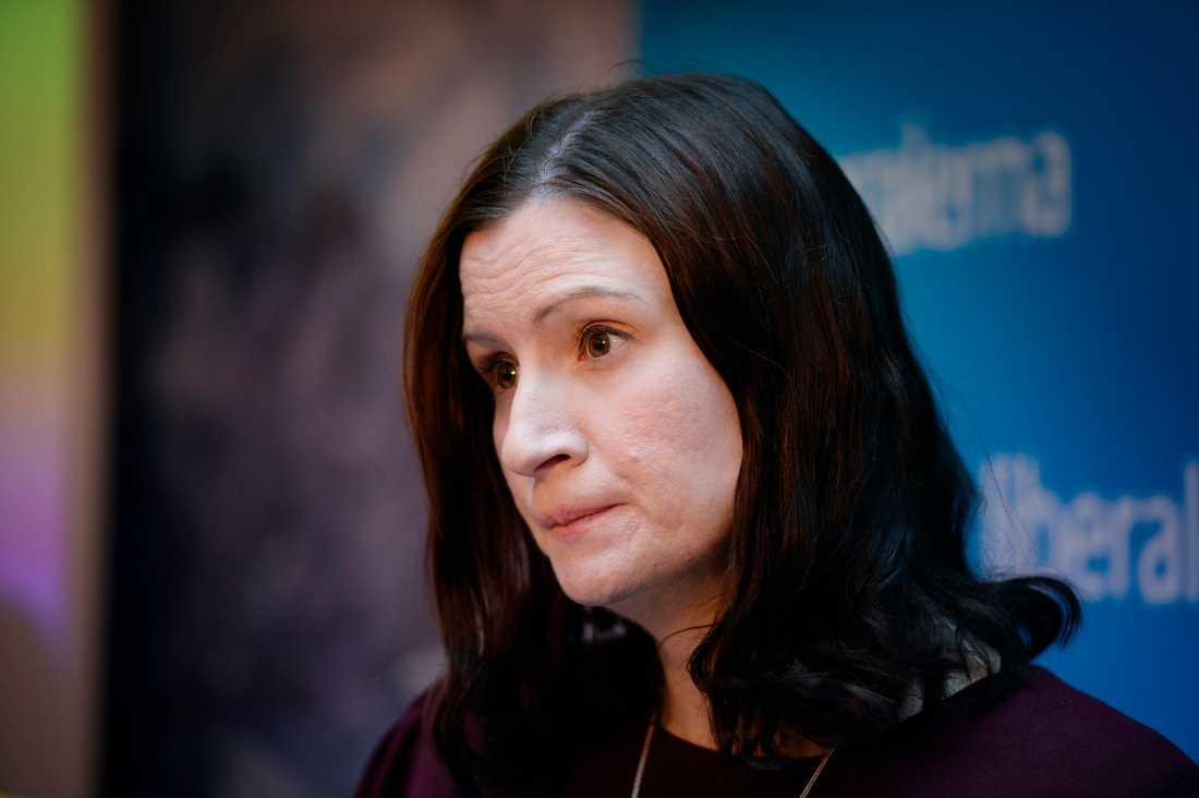 Birgitta Ohlsson (L).