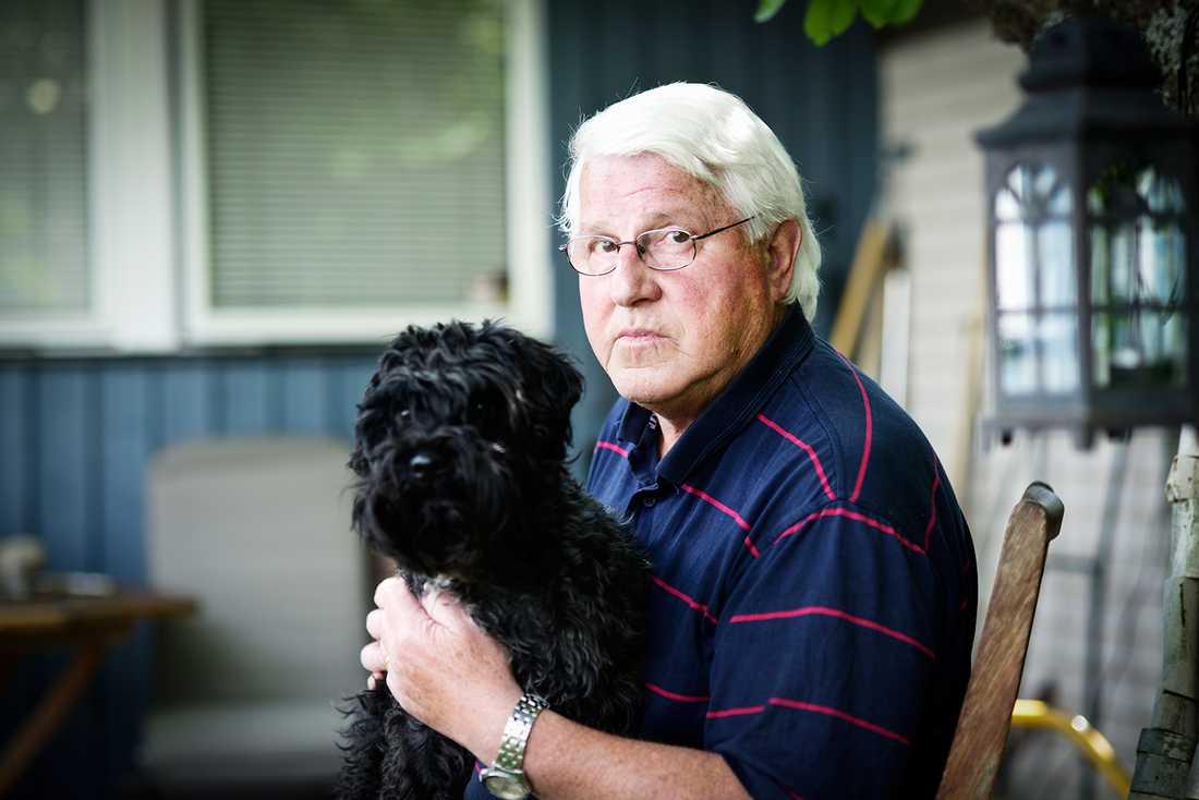 """""""Jag har aldrig hört någonting. Ingen ursäkt eller någon fråga om hur jag mår. Det har varit helt tyst"""", säger Ingemar, 75."""