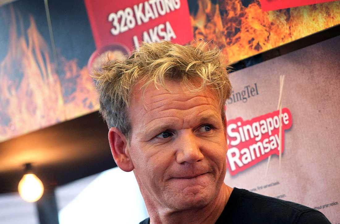Gordon Ramsay ser inte längre ut som sig själv, enligt somliga fans.