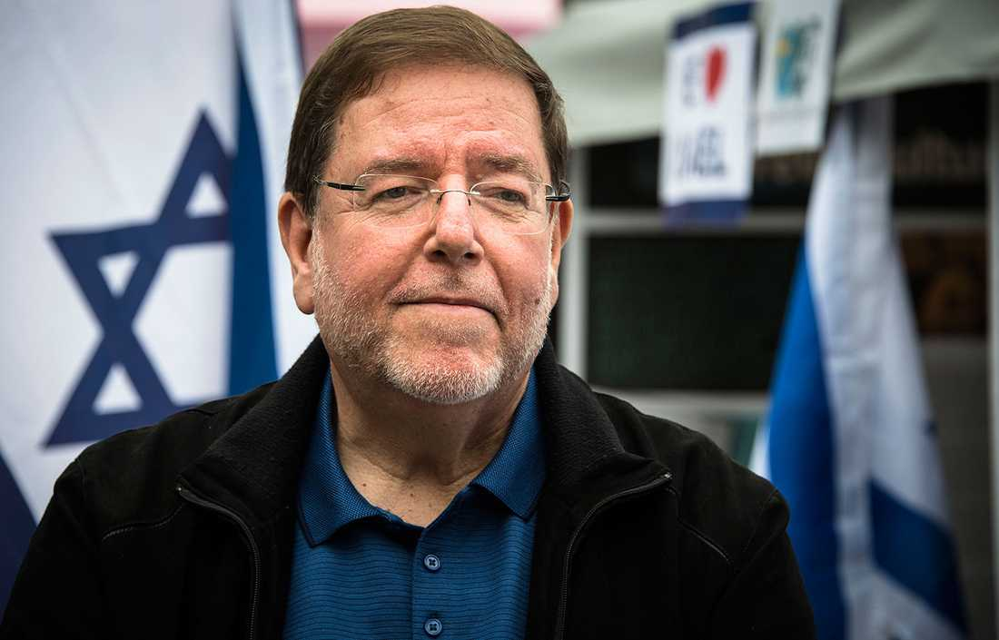 Israels ambassadör i Sverige Ilan Ben-Dov.