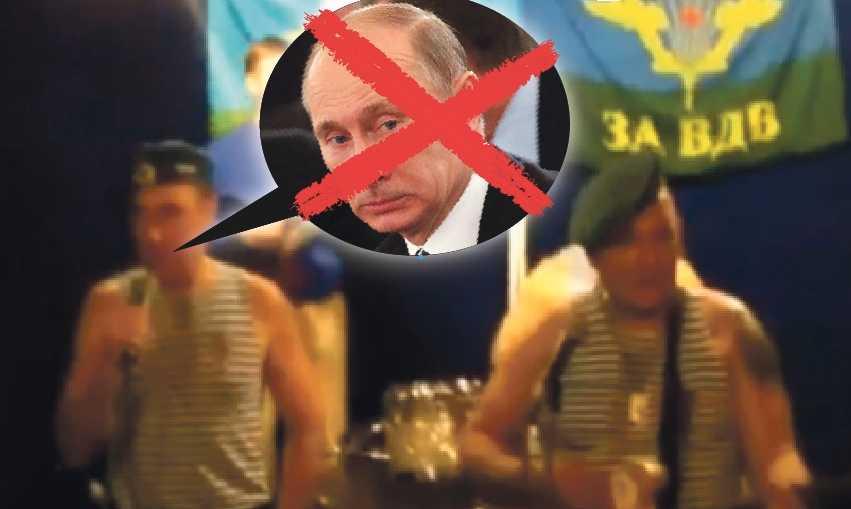 """Internetsuccé  """"Veterany VDV protiv Putina"""" – Fällskärmsjägare mot Putin gör succé på Youtube. Debatten och protesterna är mer öppna än tidigare. Även om Putin vinner är frågan vilket land han kommer leda."""