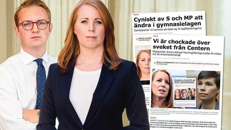Den snårskog av olika tillfälliga lagar som såväl MP som S genomfört de senaste åren försvårar, både för Sverige och för människor på flykt. Vi behöver en migrationspolitik som är långsiktig och bygger på medmänsklighet, skriver Annie Lööf och Jonny Cato.