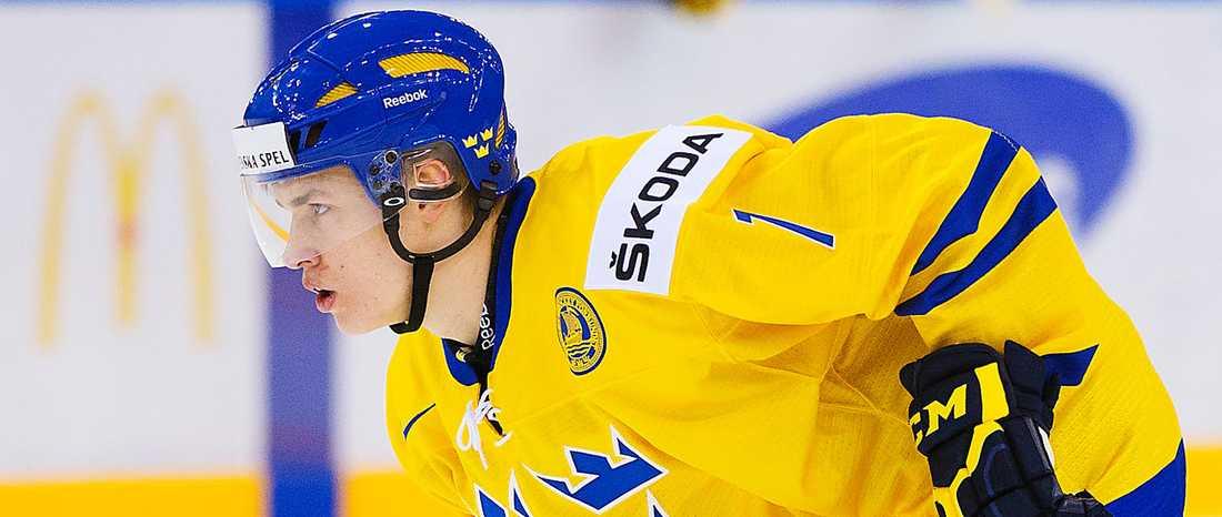 Tom Nilsson –till Toronto i natt, men spelar i Frölunda i höst.