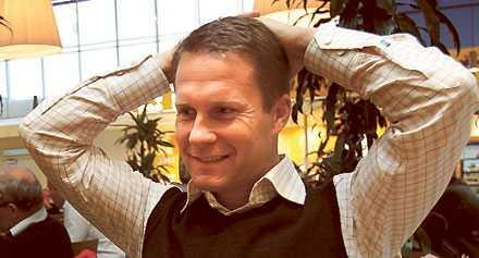 Sportchefen Ola Andersson har en hektisk tid framför sig.