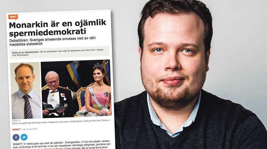 Monarkins opolitiska roll är det viktigaste vi har, speciellt när Sverige i dag har en skadlig utrikespolitik, skriver Martin Hallander.