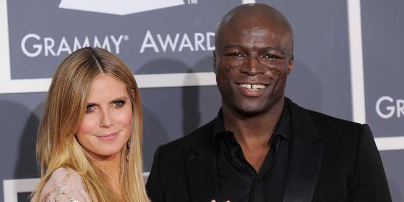 Heidi Klum och maken Seal.