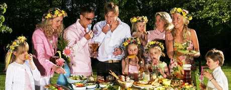 Fest i det gröna Midsommar är en av våra mest älskade högtider. Här får du tips på goda sillar, grillat och en smarrig efterrätt.