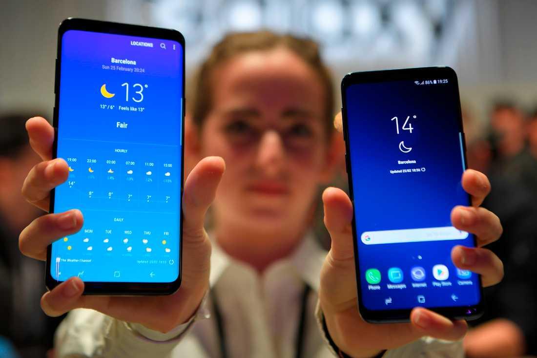 Samsung S9, en av de mest efterlängtade släppen på MWC 2018.
