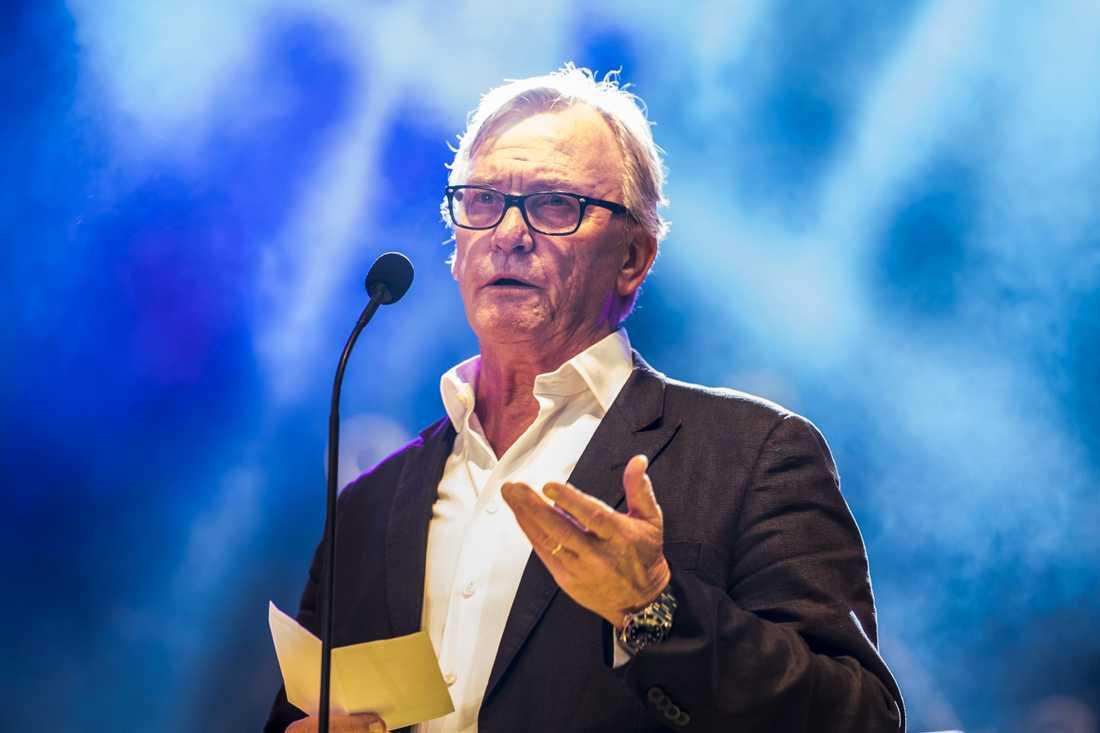 Klas Bergling på Rockbjörnen 2018.