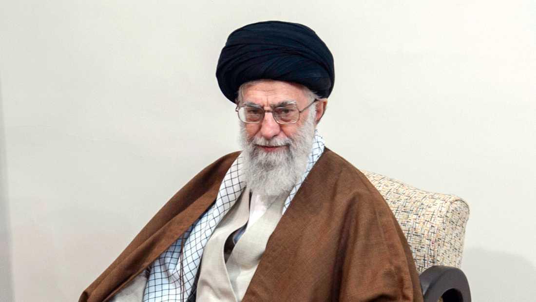 Ayatolla Ali Khamenei är Irans högste ledare. Arkivbild.