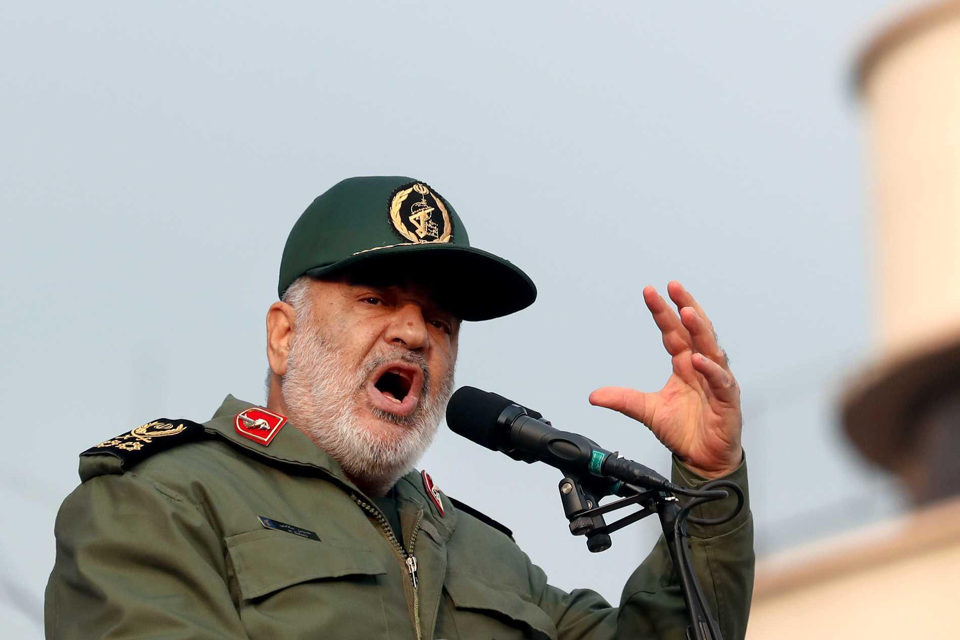 Iran: Amerikanska fartyg kan bli måltavlor
