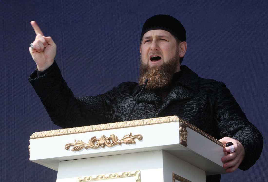 Tjetjeniens president Ramzan Kadyrov.
