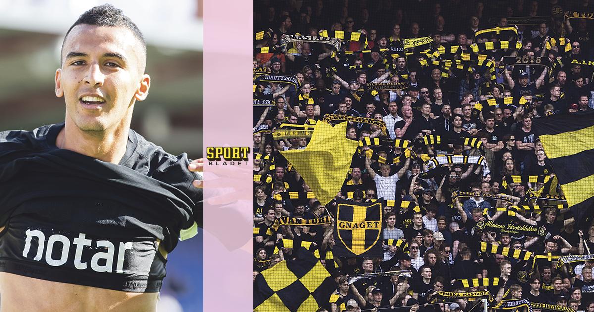 """Bahouis uppmaning till fansen: """"Kom igen"""""""
