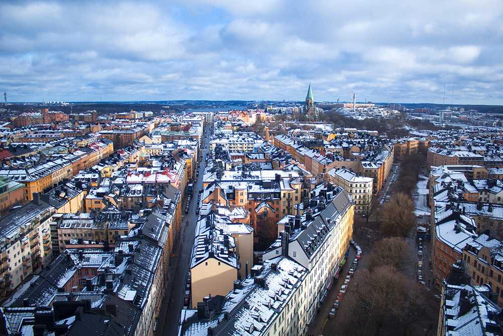 I Stockholm har bostadsrättspriserna sjunkit med 5 procent på tre månader.
