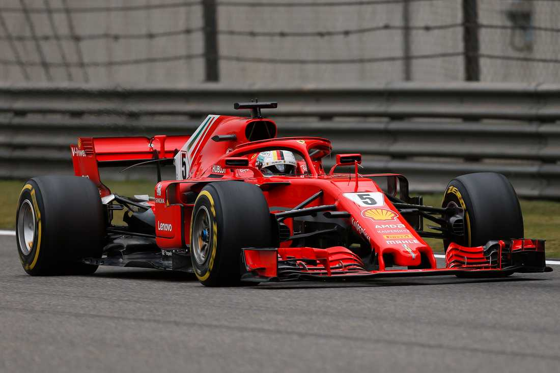 Sebastian Vettel på pole position i Kinas GP