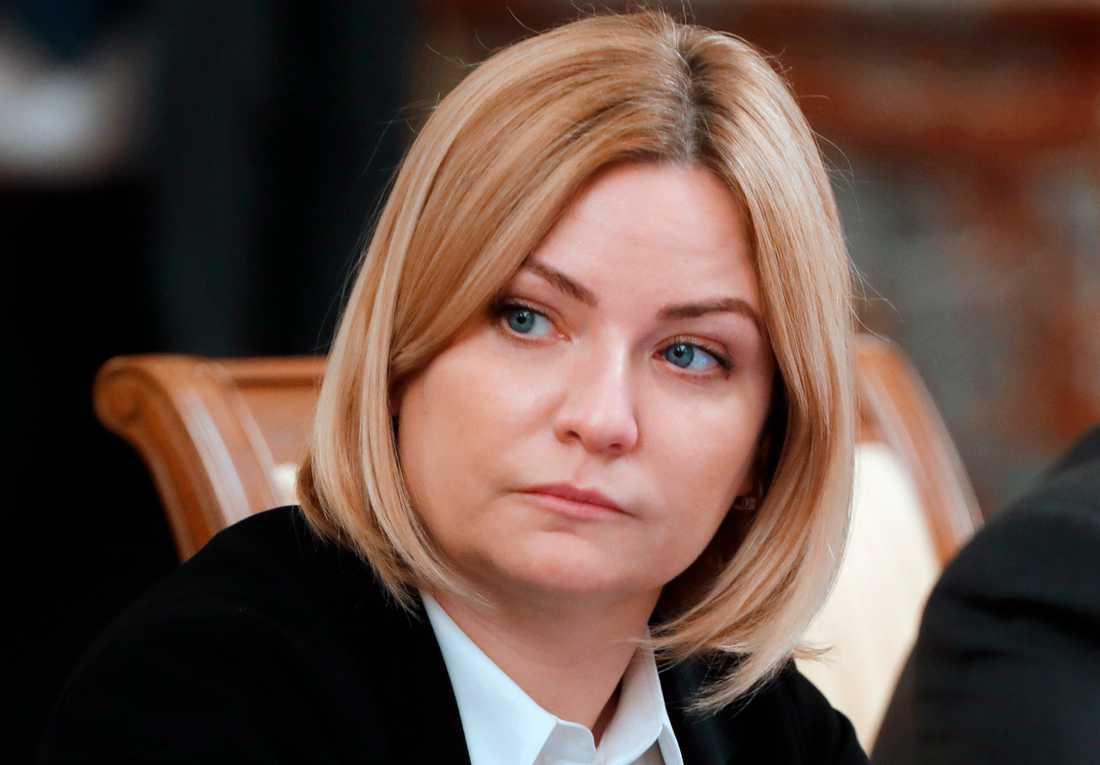 Rysslands kulturminister har testat positivt för det nya coronaviruset. Arkivbild.