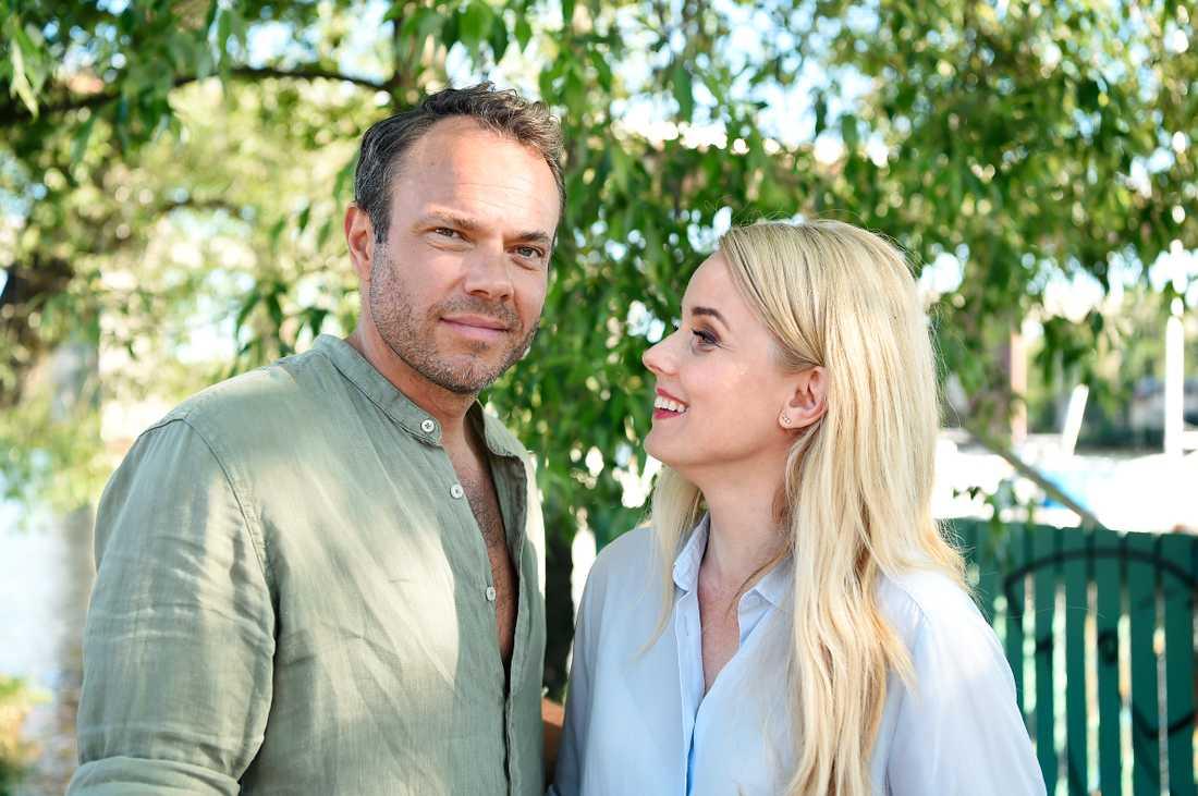 David Hellenius och Helena af Sandeberg.