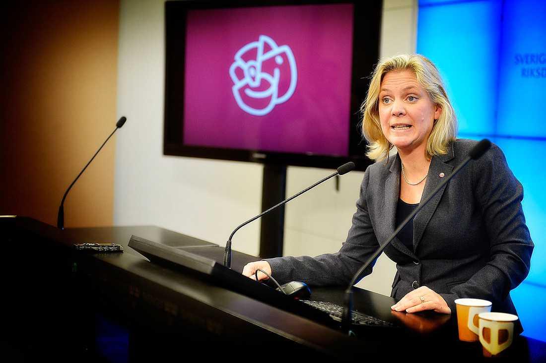 ... men vad tycker Magdalena Andersson?