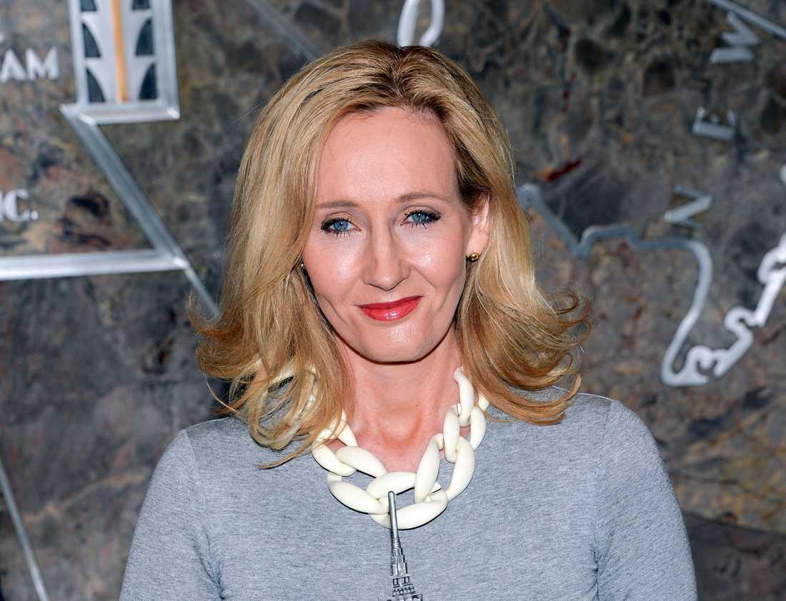 J K Rowling.