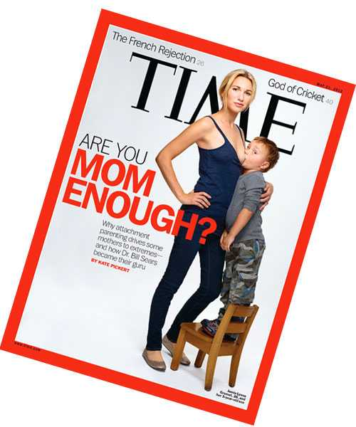 Time Magazines omslag rör upp känslor.