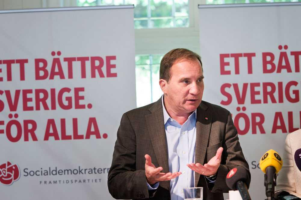 Stefan Löfven och Socialdemokraterna vill se betyg från årskurs 6.