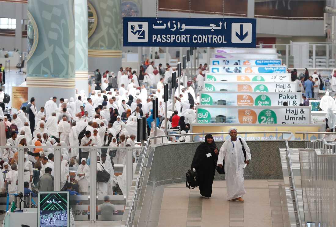 Flygplatsen i Jeddah i Saudiarabien. Arkivbild.