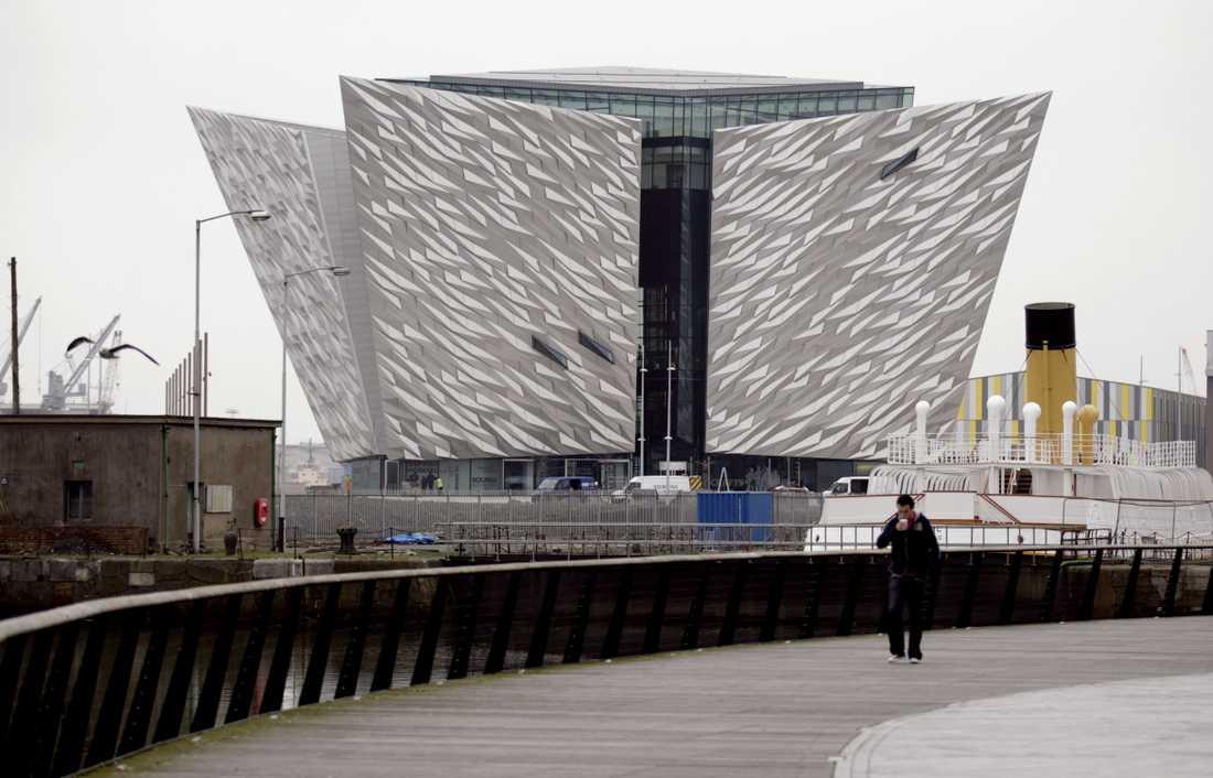 Museet i Titanic-kvartéret i Belfast är en imponerande syn och kostade cirka 100 miljoner pund att bygga.