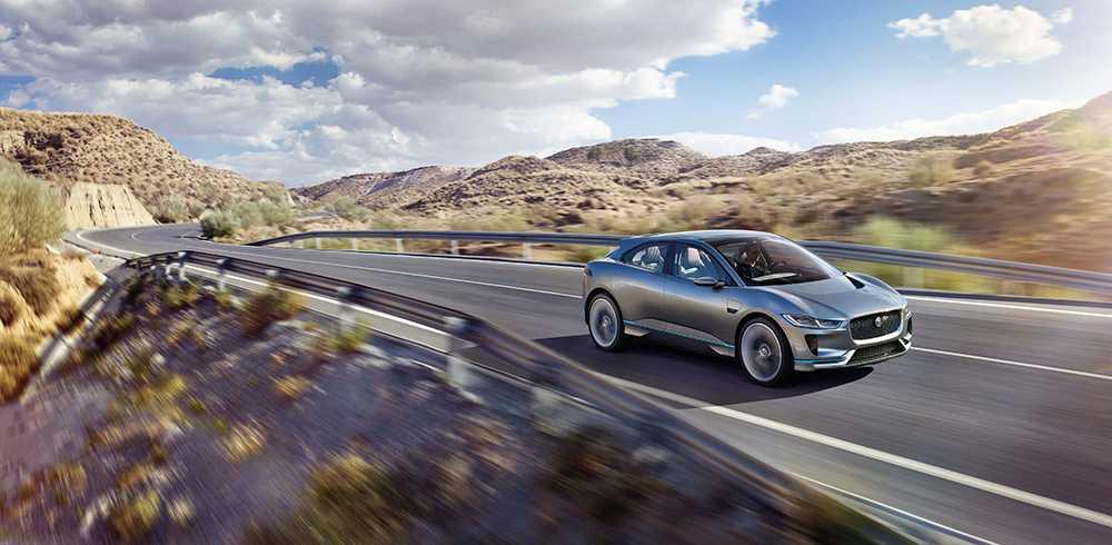Jaguar I-PACE kommer att bli tillverkarens första elbil.