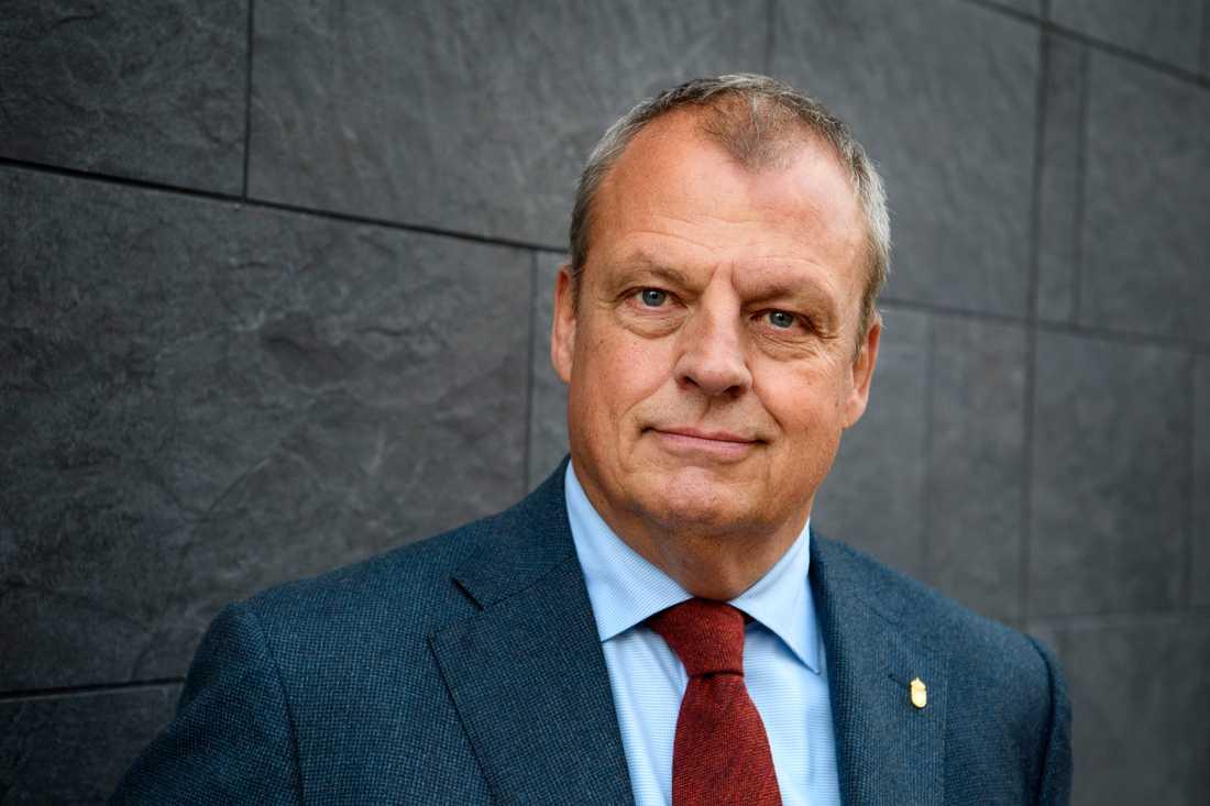 Kriminalvårdens generaldirektör Martin Holmgren.