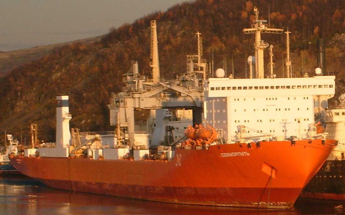 Atomdrivna fraktfartyget Sevmorput