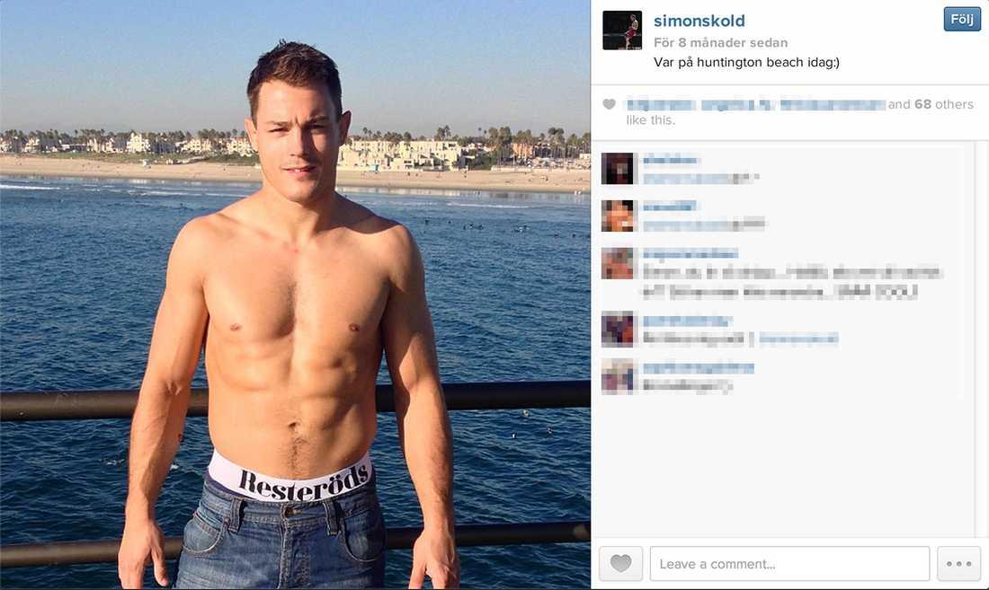 Sun's out –guns out Ibland åker Simon Sköld till Huntington Beach.