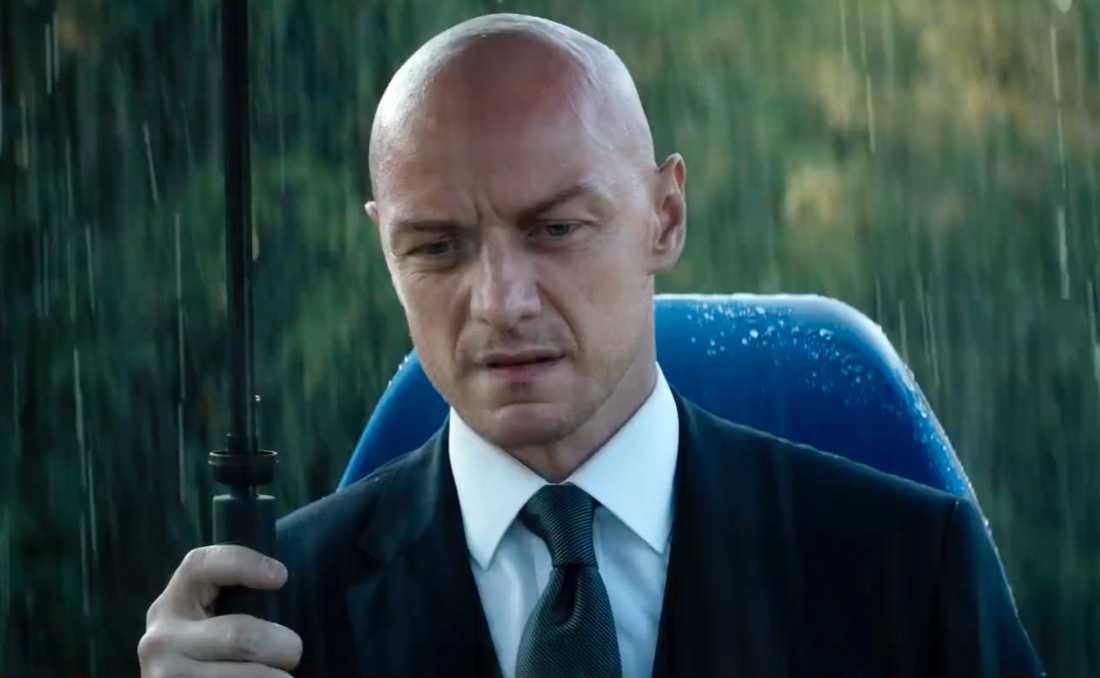 James McAvoy som Professor X.