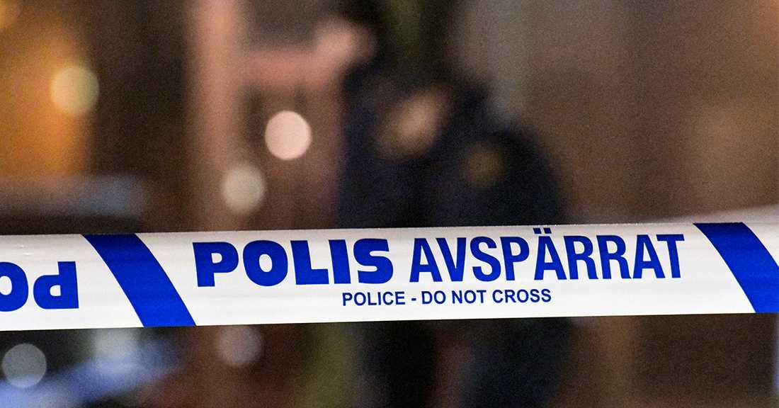 Polis, avspärrning