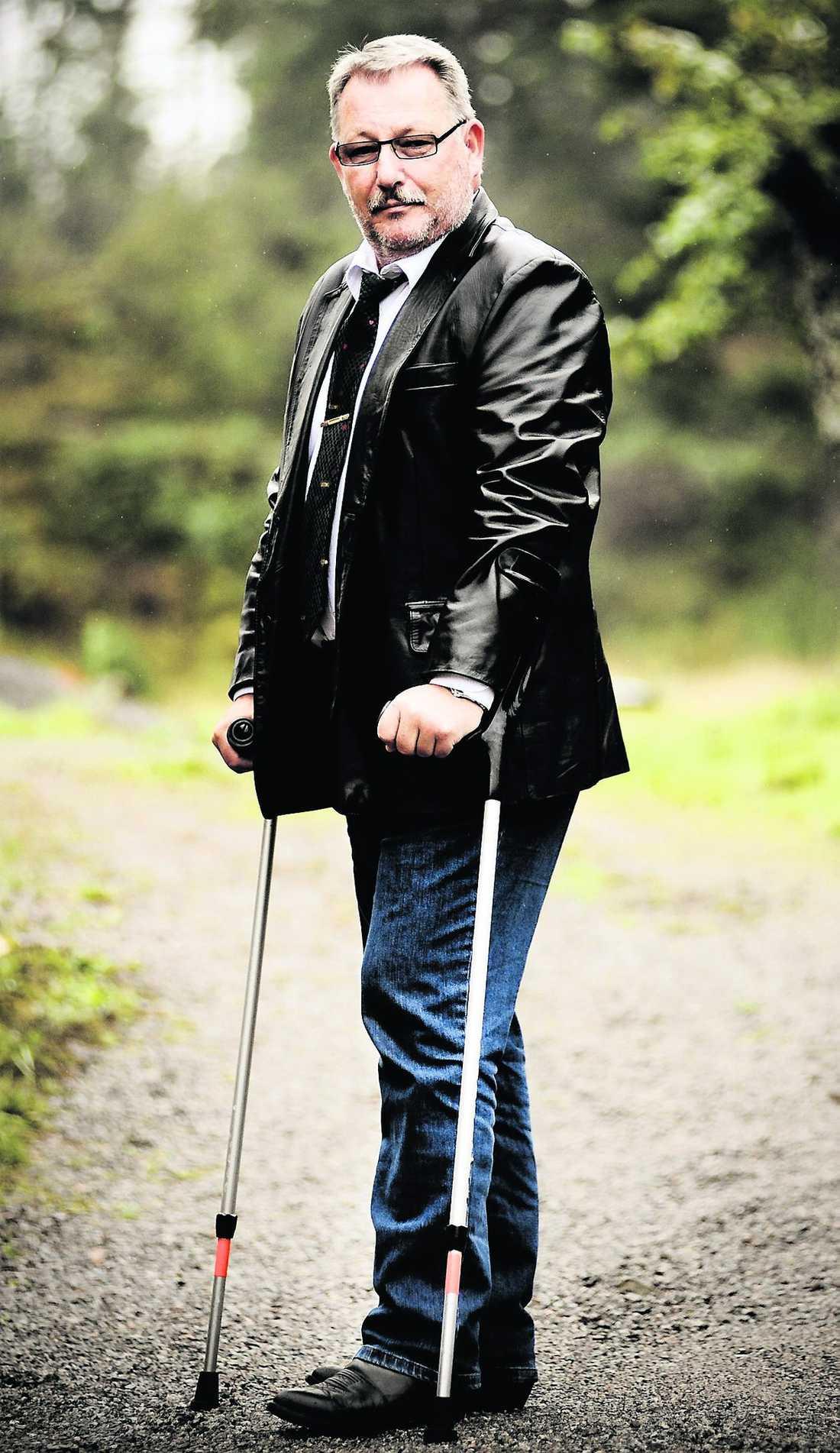 Lars Sjöblom, 57, valde att lämna Moderaterna mitt under valrörelsen.