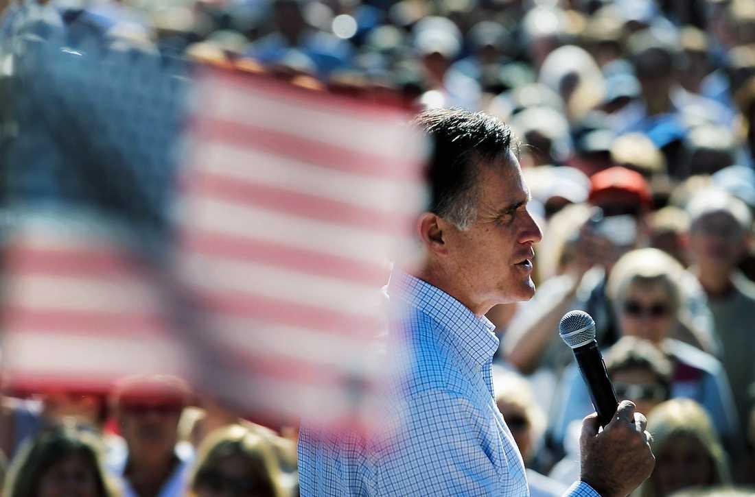 MOT VINST I går höll Mitt Romney tal i soliga Florida – en stat som han vad det verkar har lyckats vinna över på sin sida.
