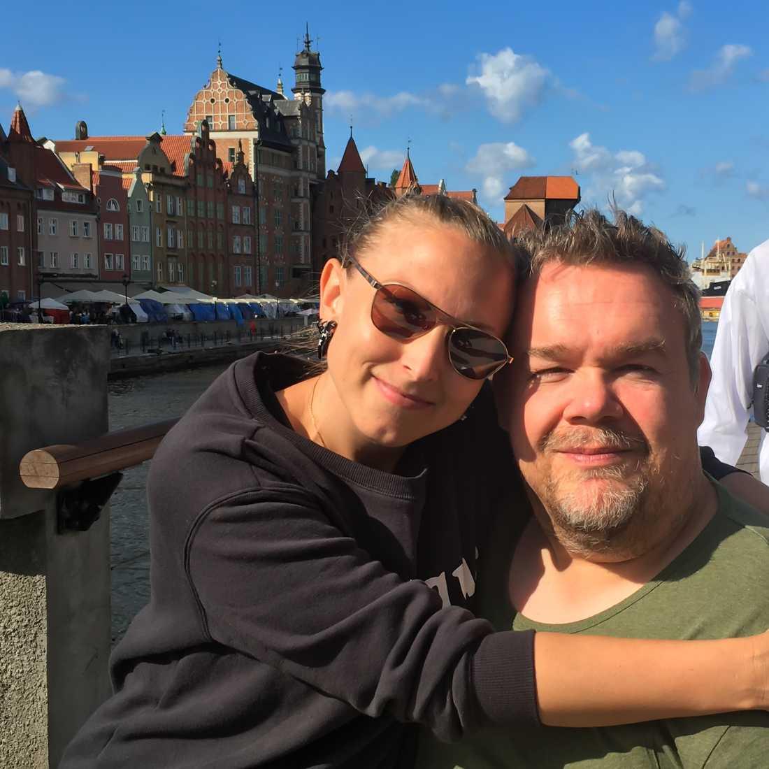 EU-parlamentarikern och KD-politikern David Lega har mött kärleken i företagaren Vega Ranstam.