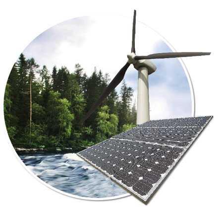 NY KRAFT Med förnybar energi blir EU mindre sårbart. Dessutom skapar det nya företag, nya jobb och en ny exportmarknad, skriver José Manuel Barroso. (Bilden är ett montage.)
