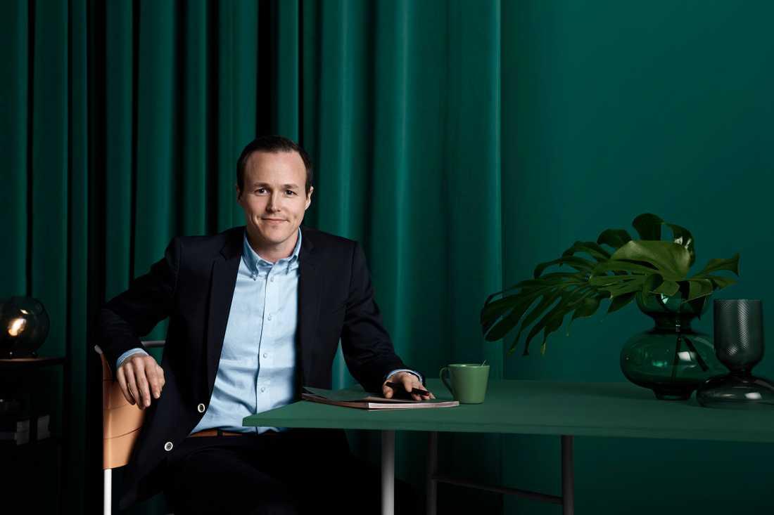 Mattias Munter, pensionsekonom vid Skandia.