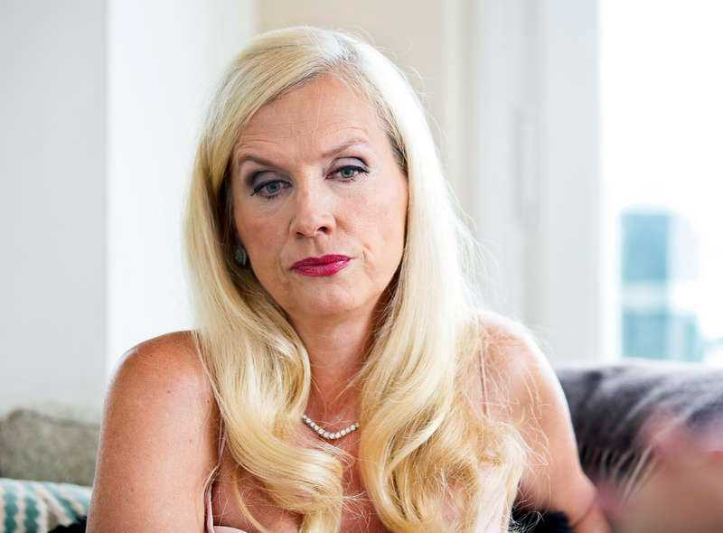 Gunilla Persson är arg.