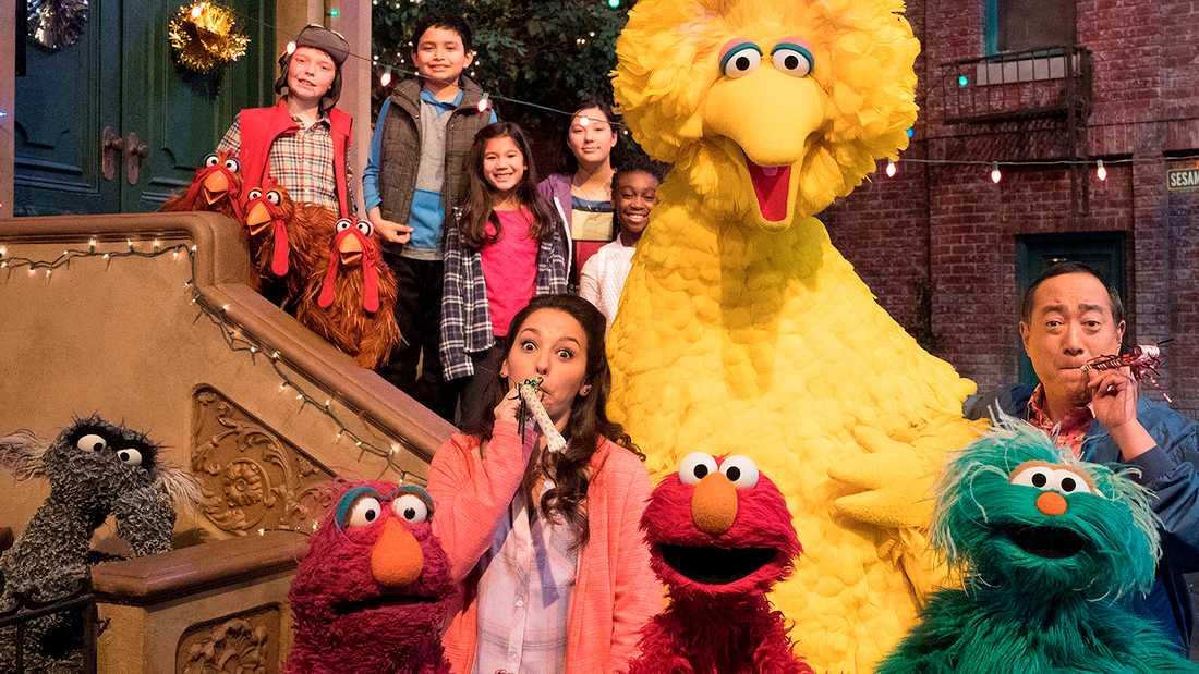"""""""Sesame street"""" får ta emot det amerikanska kulturpriset Kennedy Center Honors."""