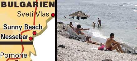 Charterparadis Nessebar ligger i ett stråk av populära svenskorter längs Svarta havskusten i Bulgarien.