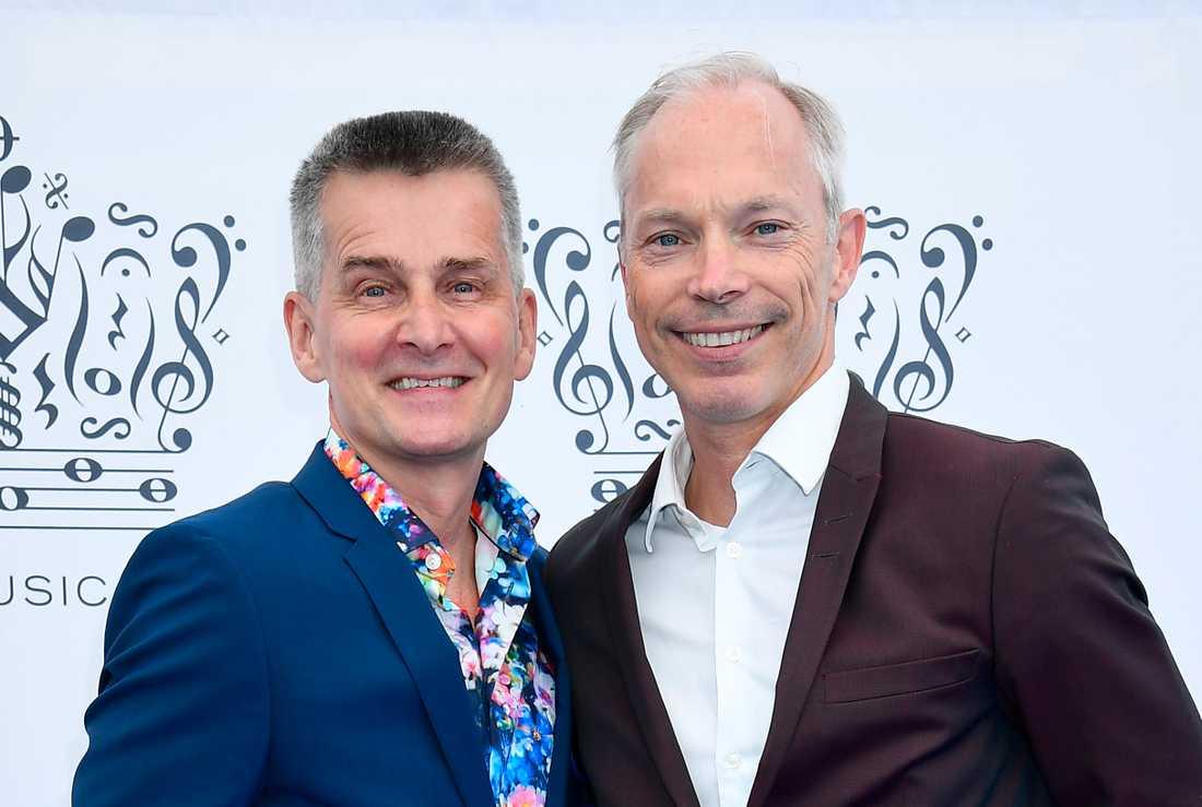 Pekka Heino och Erik Kristensen.