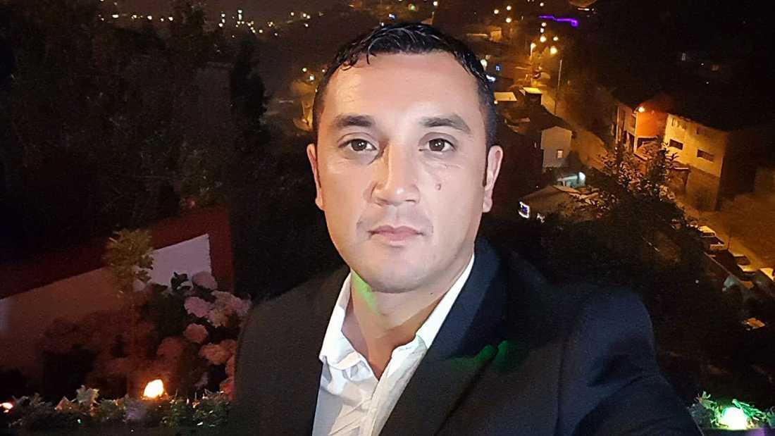 Daniel, 37, är son till den man som dog i en explosion i Vårby gård