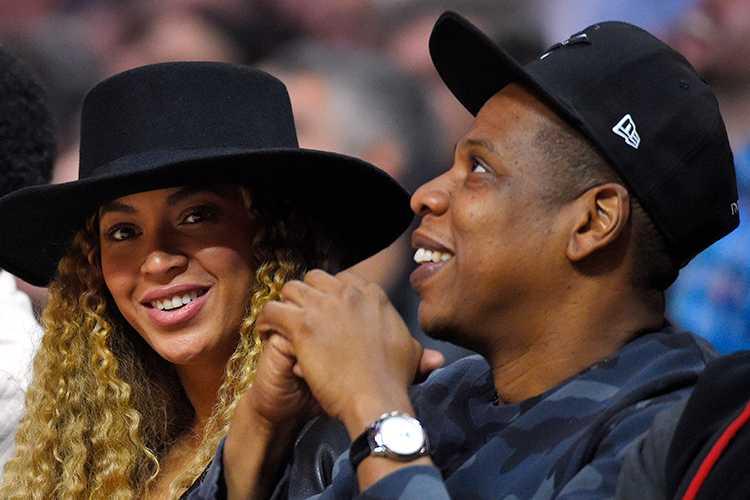 Beyoncé och Jay Z.