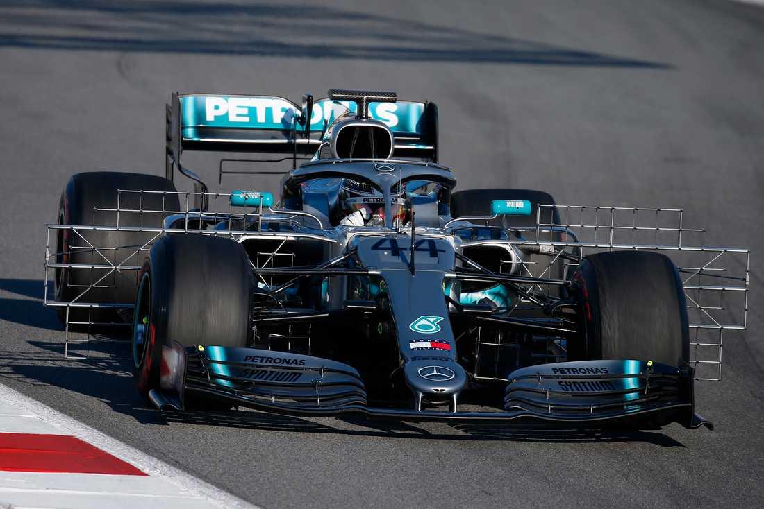 Mercedes nya bil