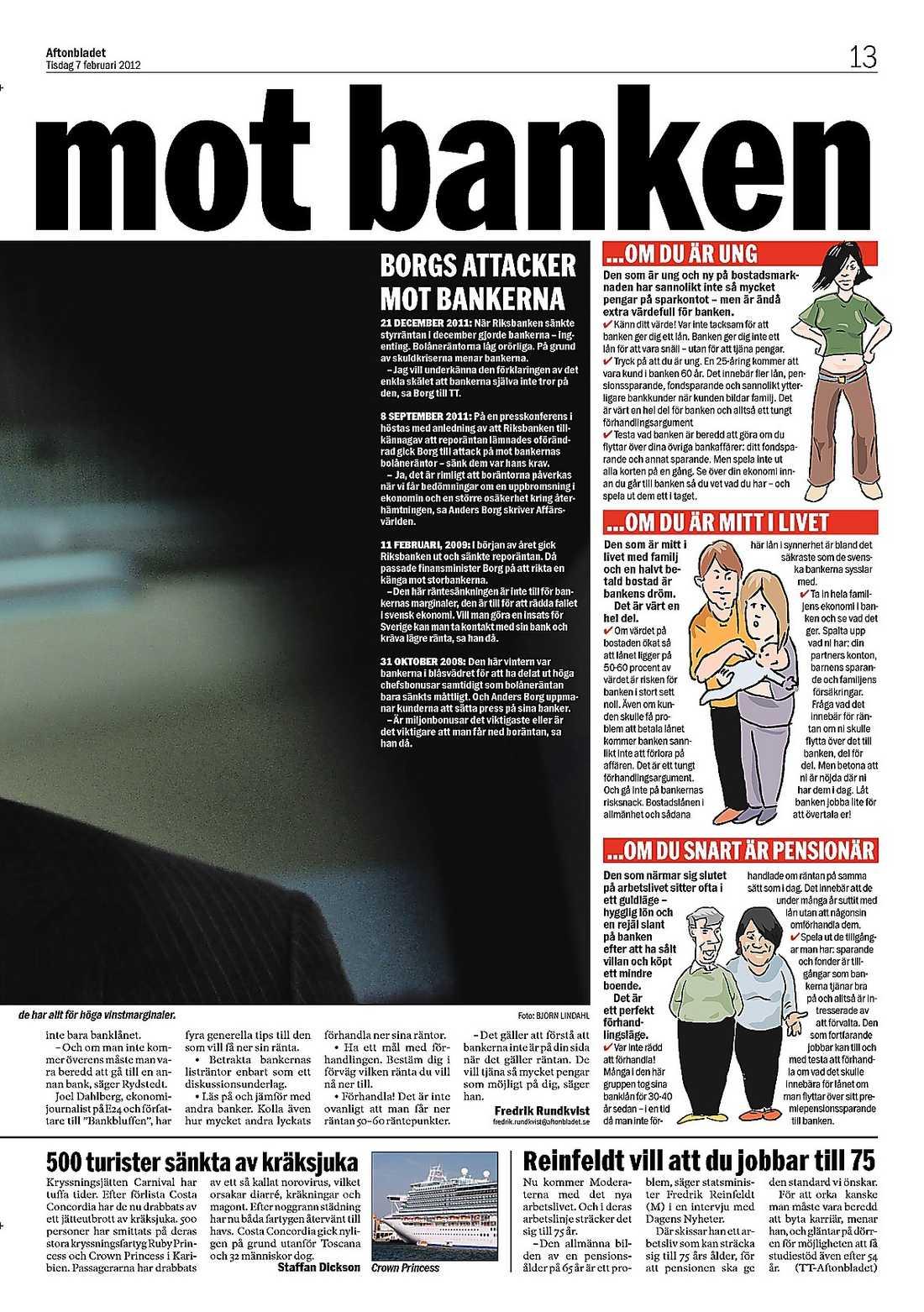 Aftonbladet i går.