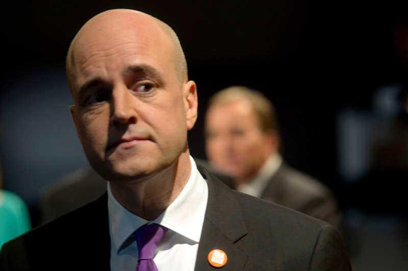 """TILL ATTACK Fredrik Reinfeldt gick till stenhård attack mot Socialdemokraternas Stefan Löfven i gårdagens partiledardebatt i SVT:s """"Agenda"""". Men statsministern talade inte om vad det är han själv vill."""