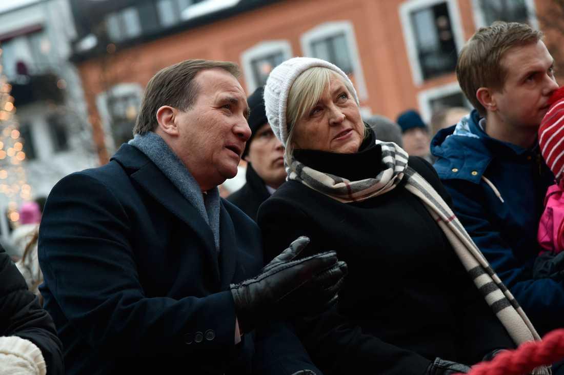 Stefan och Ulla Löfven.